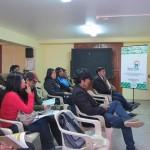 Jóvenes de la región de Puno dialogaron sobre la soberanía alimentaria frente al Cambio  Climático