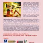 """Cuarto Conversatorio: """"La situación actual del proyecto político de la interculturalidad y la descolonización"""""""