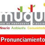 PRONUNCIAMIENTO: Política de imposición de Estados de Emergencia en corredor minero de Cusco-Apurímac-Arequipa no soluciona problemática generada por la actividad minera