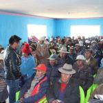"""Taller sobre """"Tierra, Territorio y Concesiones Mineras"""" en la Comunidad de Chajana Cojata"""