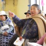 Juli: mujeres de diferentes sectores reflexionan en el Suma Qamaña (Buen Vivir)