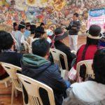"""Políticas públicas con enfoque intercultural, fue el tema abordado en el segundo encuentro de líderes de la escuela comunitaria """"Kullakanakana sartawipa"""""""
